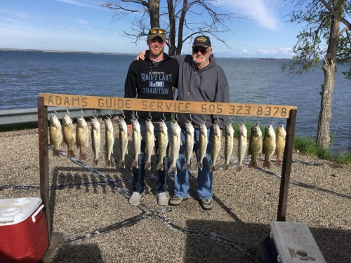 Walleye fishing guide service, family vacation