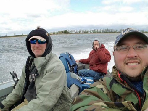 Veterans Fishing Day with Keith Michaels and Dave Keller