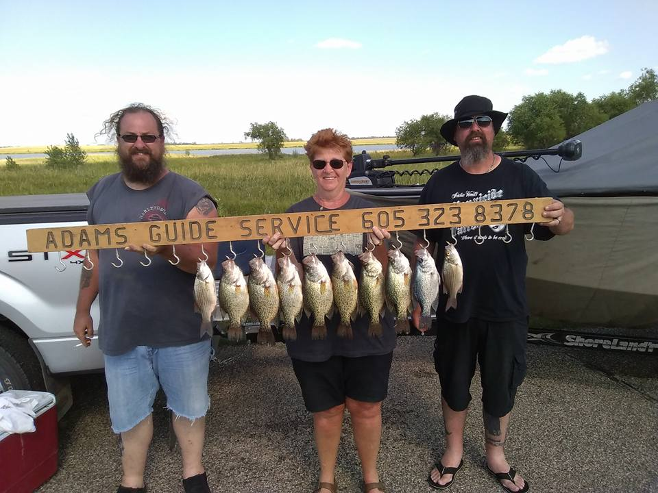 Lake Thompson, SD Crappie Fishing