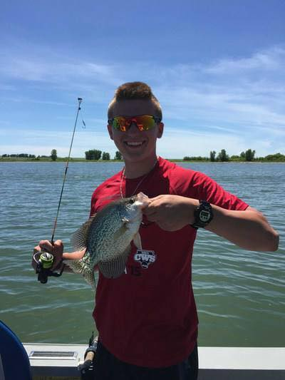 South Dakota crappie, nice catch.