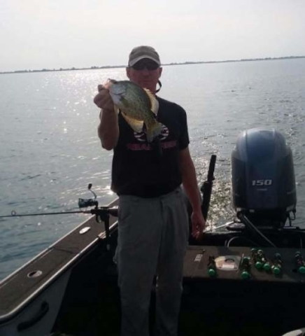 Crappie fishing, South Dakota fishing guide.