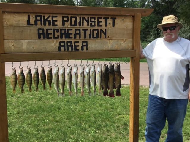Lake Poinsett Recreation Area - perch, walleye and catfish