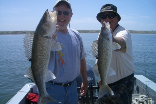 Sutton Bay Missouri River South Dakota walleye